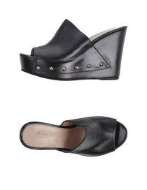 MARIA CRISTINA - Open-toe mule