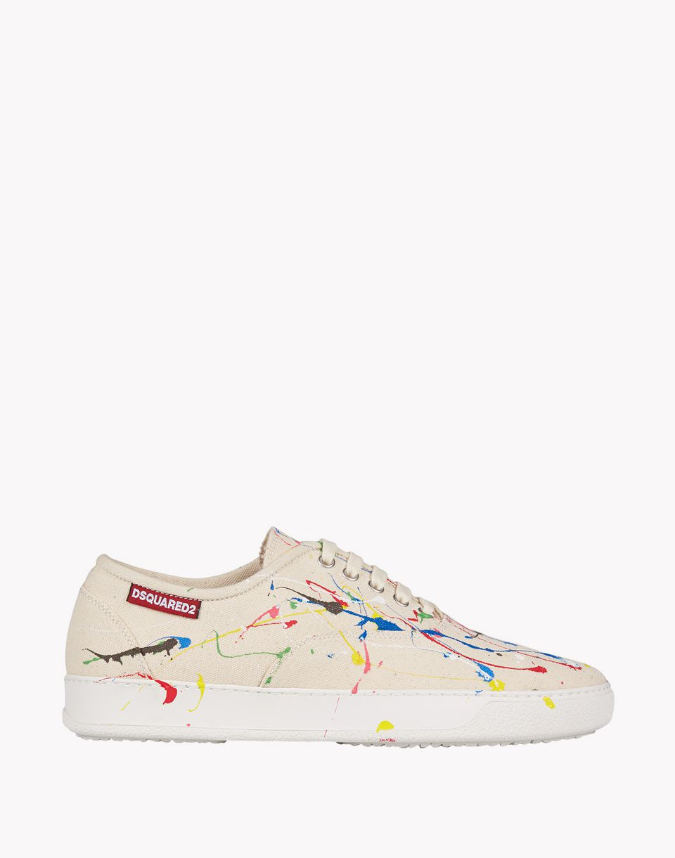 pollock sneakers shoes Man Dsquared2
