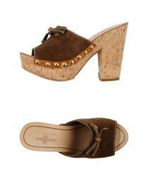 CARSHOE - Open-toe mule