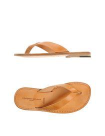 L' ARTIGIANO DEL CUOIO - Flip flops & clog sandals