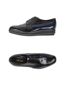 PRADA - Laced shoes