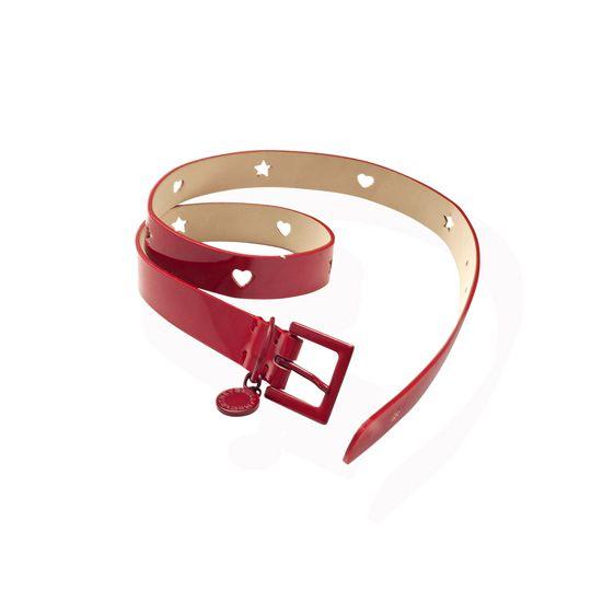 STELLA McCARTNEY KIDS, Shoes & Accessories, Hot Red Indie belt