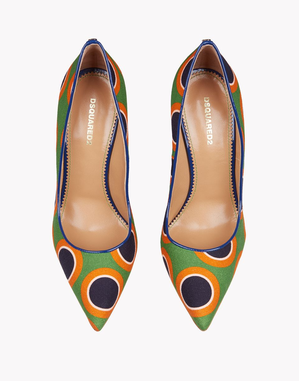 sonya print pumps shoes Woman Dsquared2