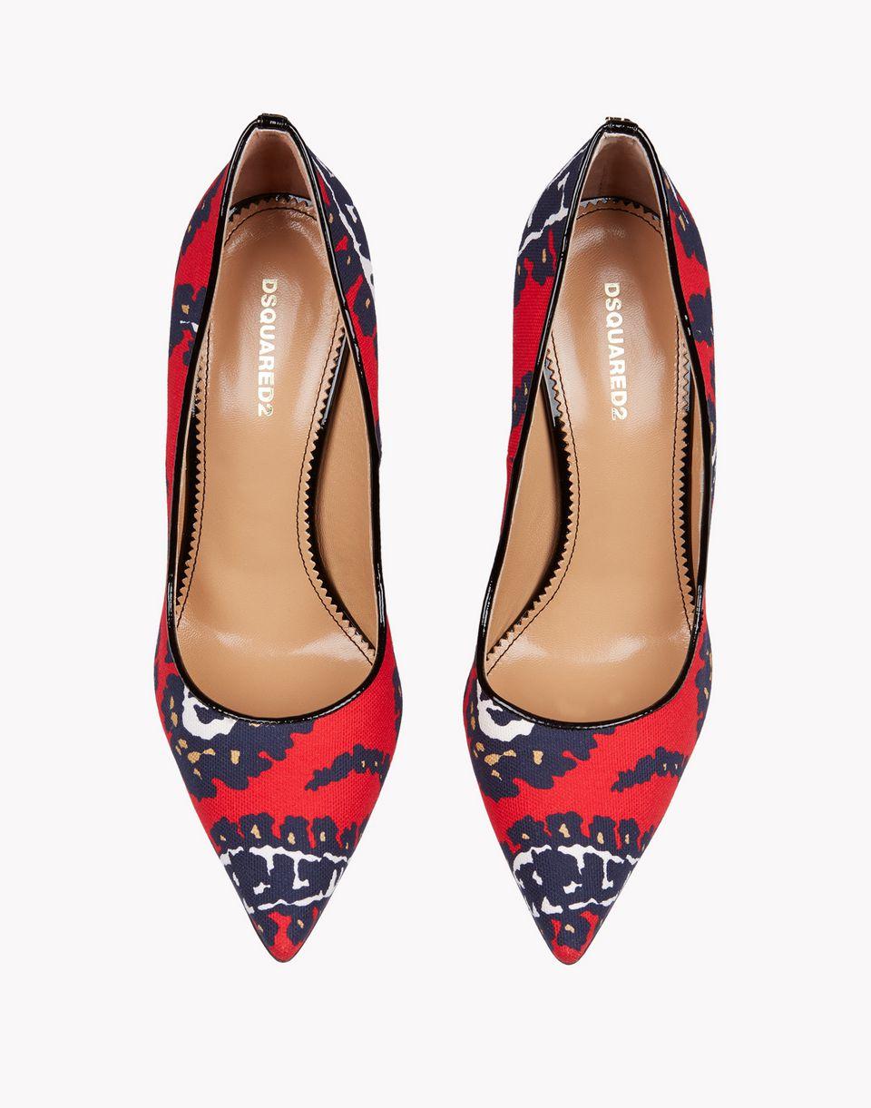 sonya print pumps shoes Woman Dsquared2