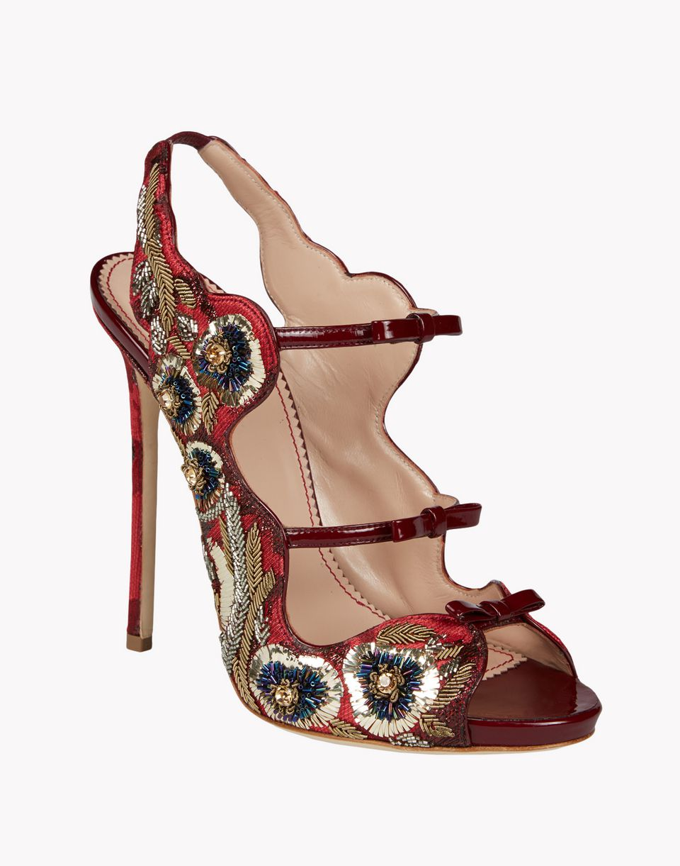 china girl open toe sandals shoes Woman Dsquared2