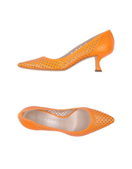 Оранжевые туфли в онлайн