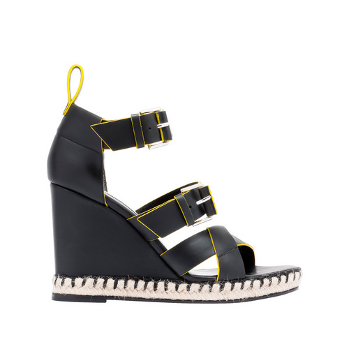 Balenciaga Rope Track Wedge Sandals