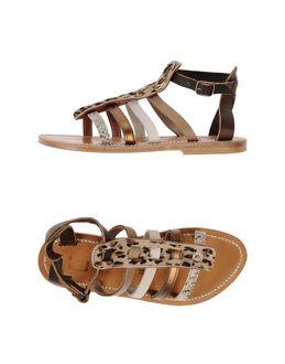 K. Jacques St. Tropez - K. JACQUES ST. TROPEZ - FOOTWEAR - Sandals