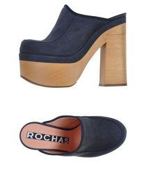 ROCHAS - Open-toe mule
