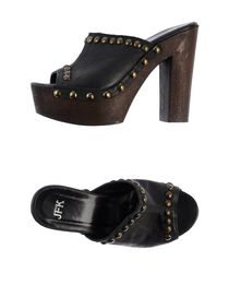 JFK - Open-toe mule