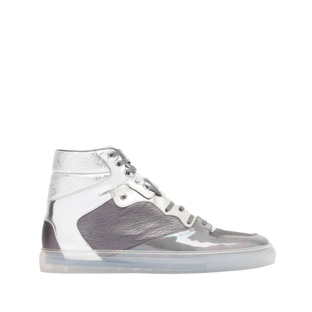 balenciaga balenciaga metal high sneakers men 39 s multimaterial sneakers. Black Bedroom Furniture Sets. Home Design Ideas
