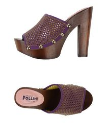 STUDIO POLLINI - Open-toe mule