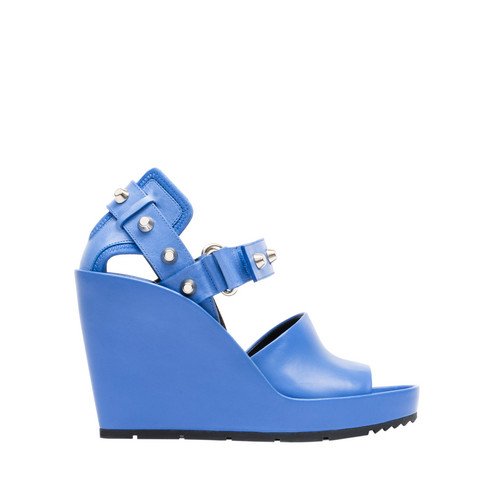 Balenciaga Strap Band Wedge Sandals
