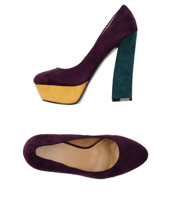 Туфли PLATINO. Цвет: фиолетовый