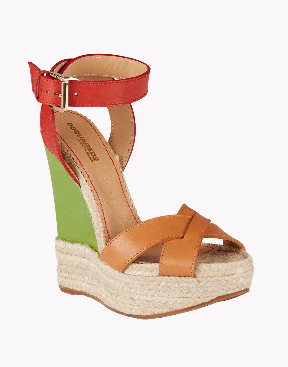 espadrillas wedges shoes Woman Dsquared2