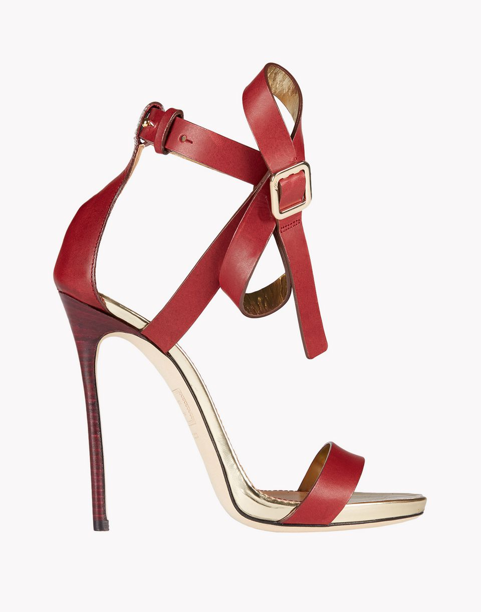 bow buckle sandals shoes Woman Dsquared2