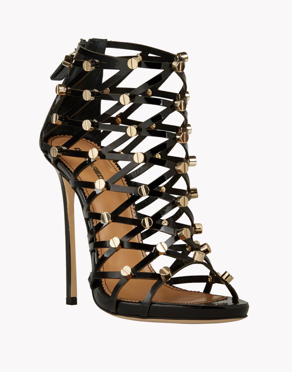 xenia studs sandals shoes Woman Dsquared2
