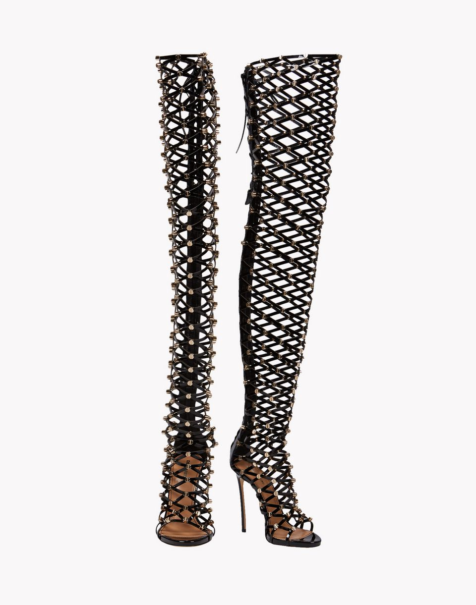 xenia studs sandal boots shoes Woman Dsquared2