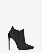Classic Paris 105 Chelsea Ankle Boot In Black Leather