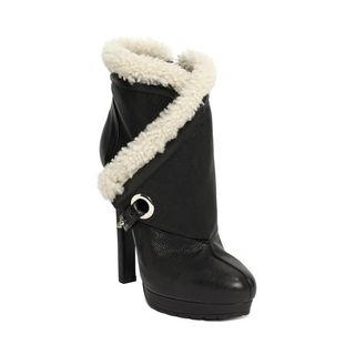 ALEXANDER MCQUEEN, Boots, Folded Detail Ankle Boot