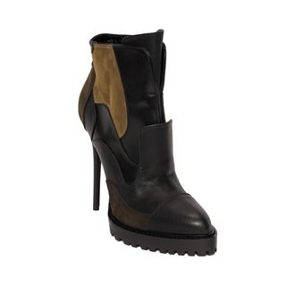 ALEXANDER MCQUEEN, Boots, Patchwork Ankle Boot