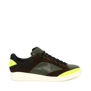 ALEXANDER MCQUEEN, Sneakers, Low Lace Up Abstract Sneaker