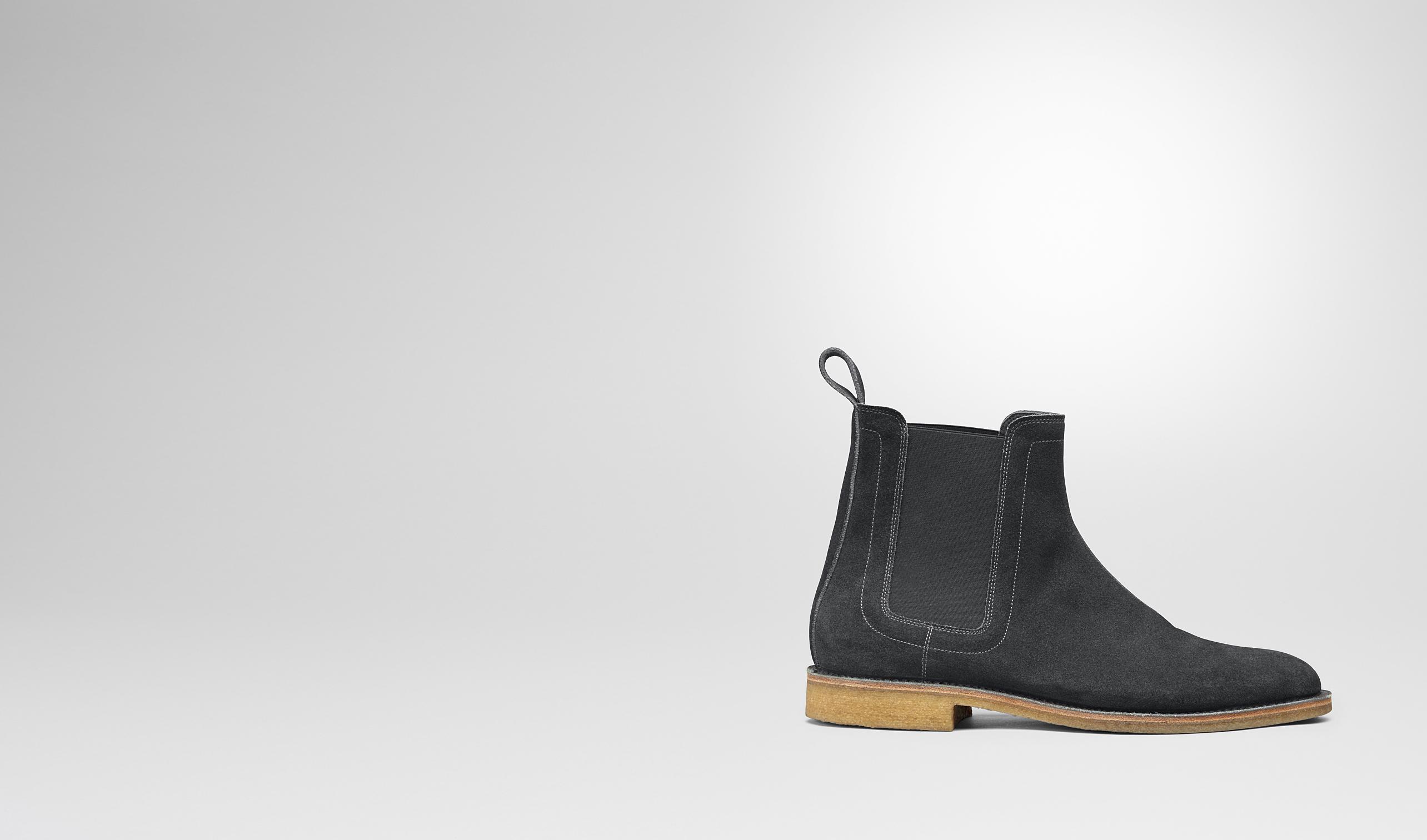 Luxury Bottega Veneta Leather Chelsea Boots In Black For Men  Lyst