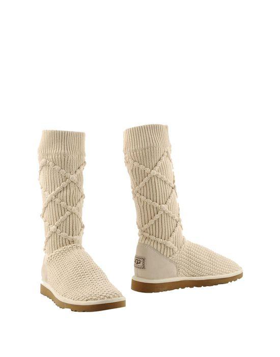 Зимние женские бежевые ботинки