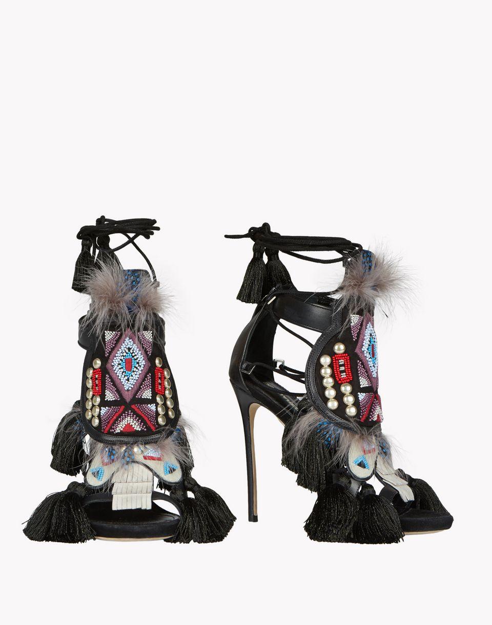 eskimo chic sandals shoes Woman Dsquared2