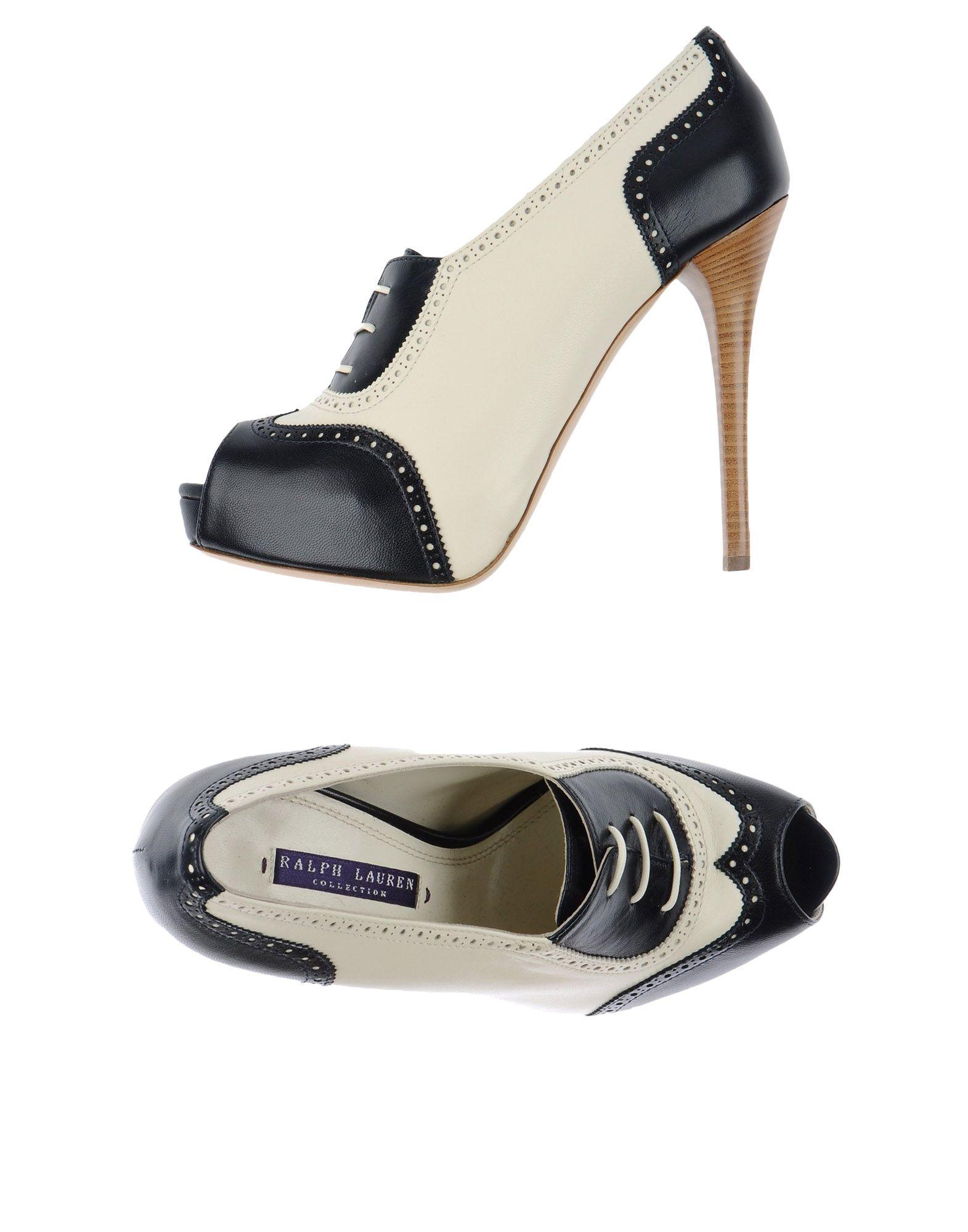 ralph lauren collection female ralph lauren collection laceup shoes