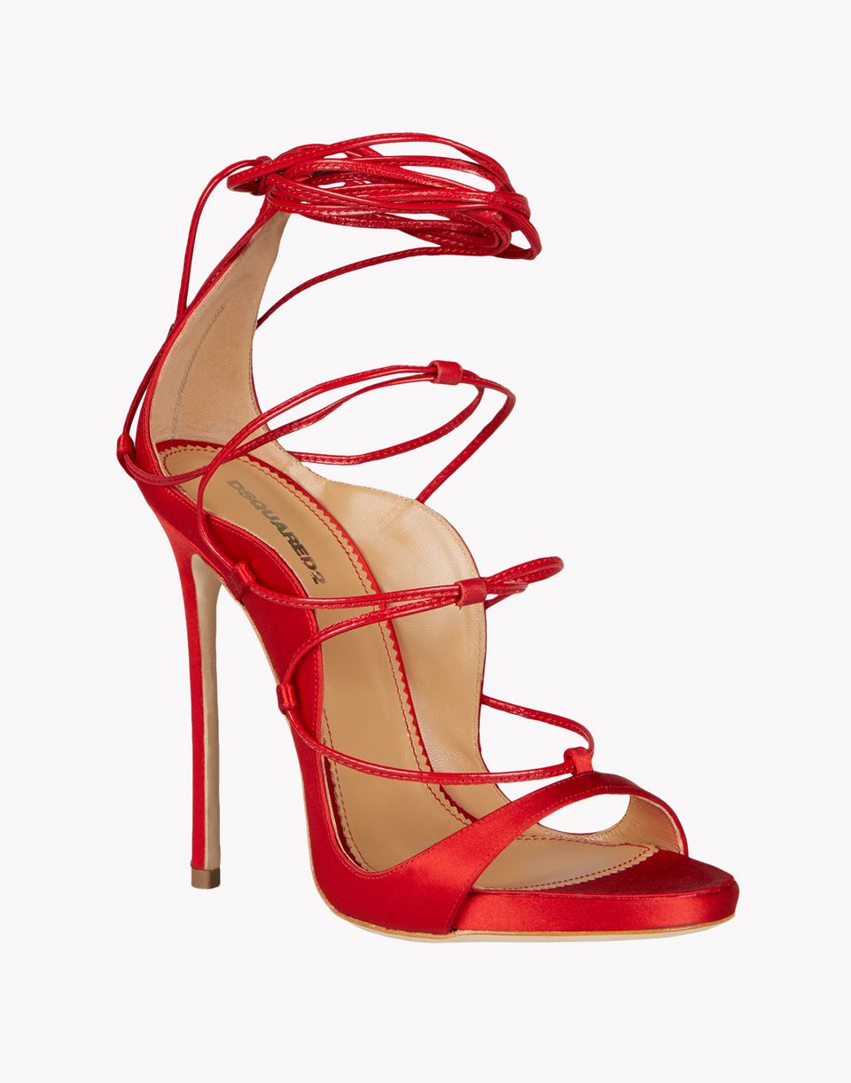 little dress sandals shoes Woman Dsquared2