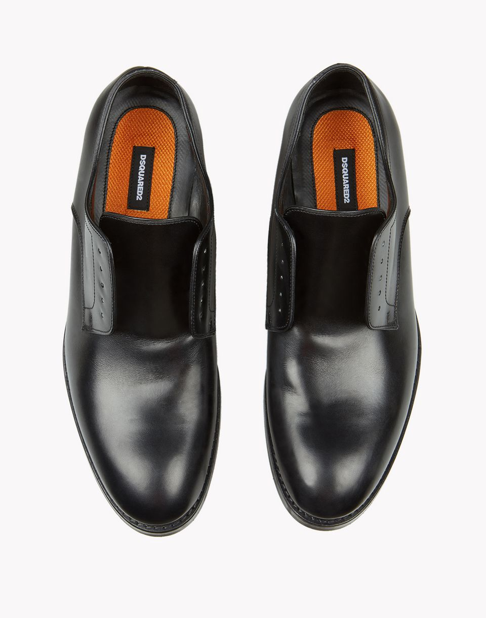 bobo leather loafers shoes Man Dsquared2