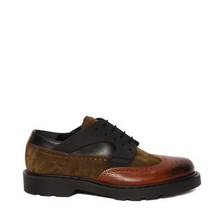 ALEXANDER MCQUEEN, Lace-up, Three Color Brogue Lace Up