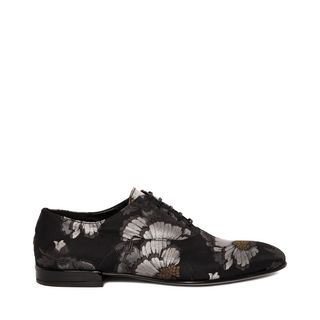 ALEXANDER MCQUEEN, Lace-up, Jacquard Oxford Lace Up