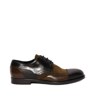ALEXANDER MCQUEEN, Lace-up, Bicolor Derby Lace Up