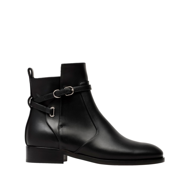 balenciaga papier chelsea ankle boots black s
