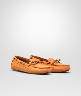 PERSIMMON SUEDE MOCCASIN