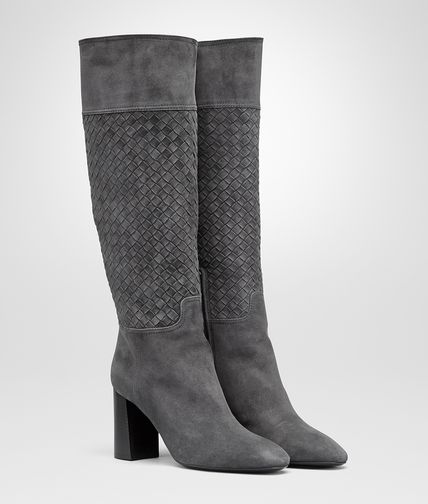 BOOT IN ARDOISE SUEDE