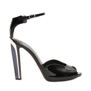 ALEXANDER MCQUEEN, Sandals, Plexi Heel Patent Sandal