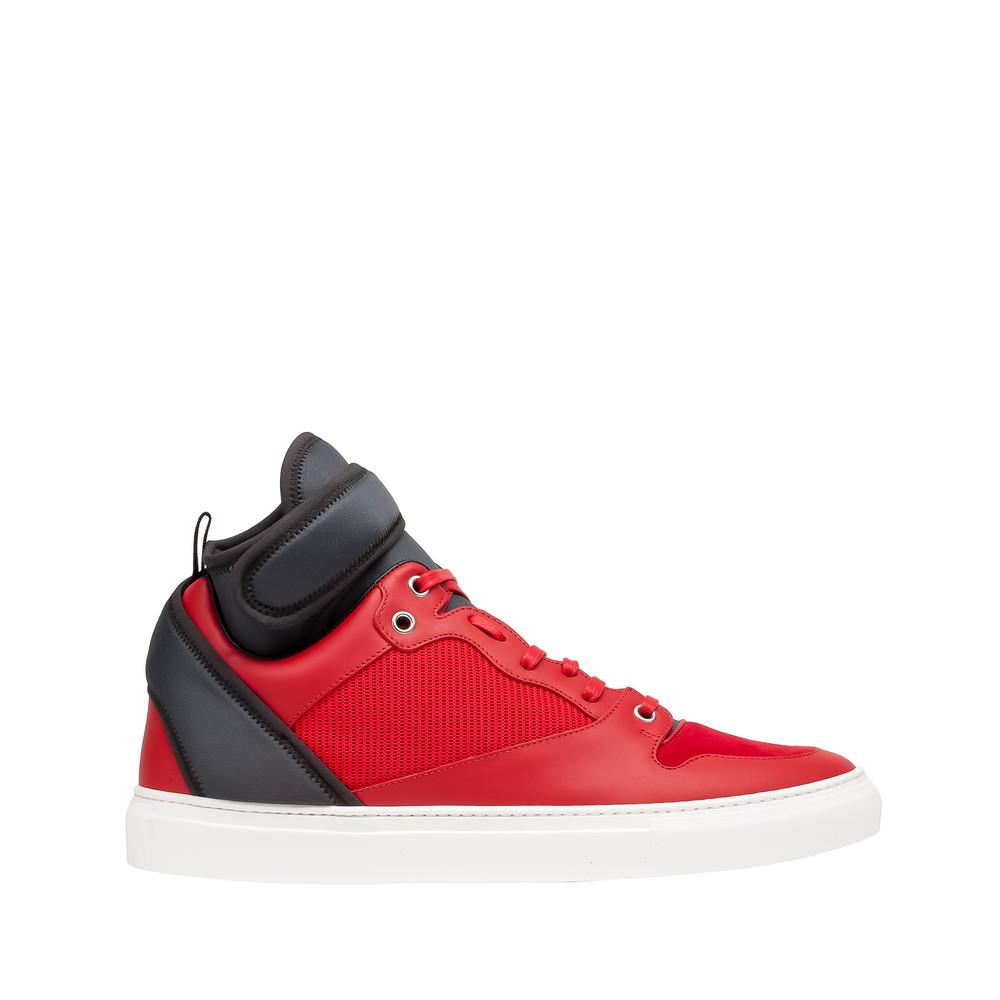balenciaga balenciaga neoprene high sneakers men 39 s multimaterial sneakers. Black Bedroom Furniture Sets. Home Design Ideas