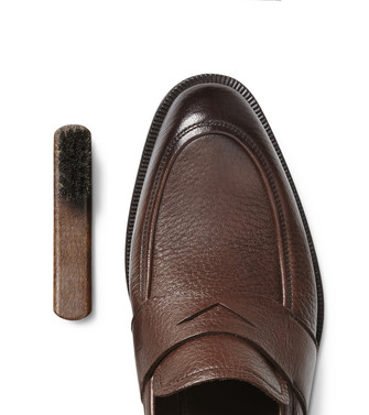 ERMENEGILDO ZEGNA: SHOE CARE Dark brown - 44894082KF