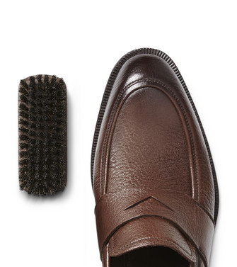ERMENEGILDO ZEGNA: SHOE CARE Dark brown - 44894085US