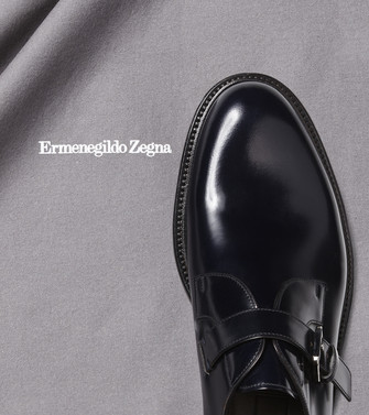 ERMENEGILDO ZEGNA: SHOE CARE Nero - 44894087NI