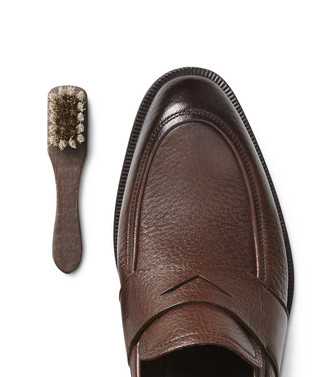 ERMENEGILDO ZEGNA: SHOE CARE Brown - 44894091EP