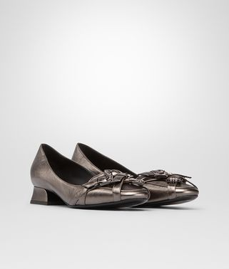 ARGENTO ANTIQUE METALLIC CALF PUMP