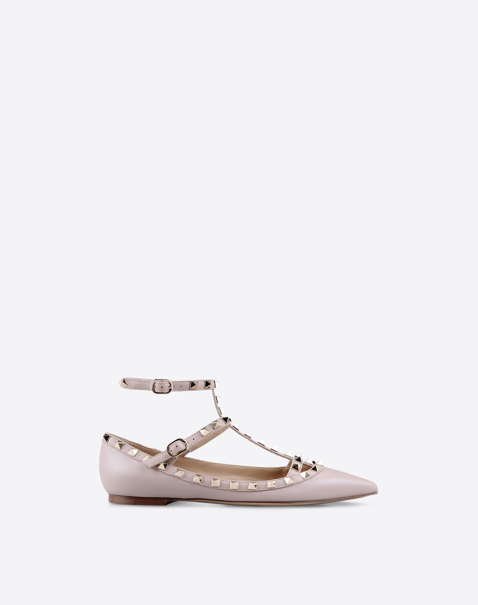 valentino garavani rockstud ballerina ballerinas for women valentino online boutique. Black Bedroom Furniture Sets. Home Design Ideas