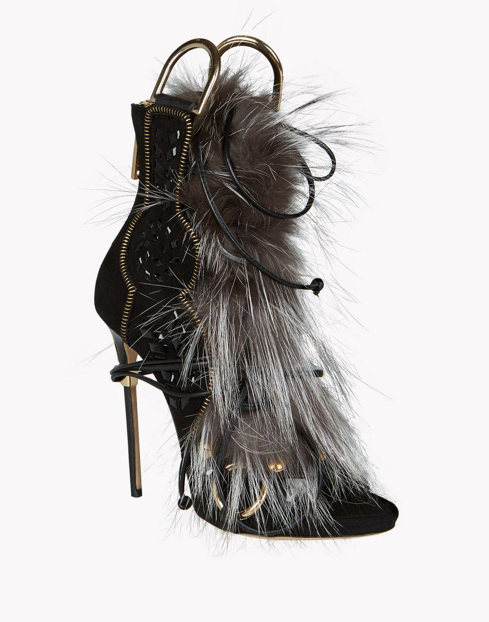 eskimo fur sandals shoes Woman Dsquared2