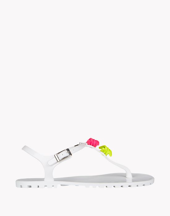babe wire flip flops shoes Woman Dsquared2