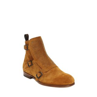 ALEXANDER MCQUEEN, Boots, Studded Buckle Monk Boot