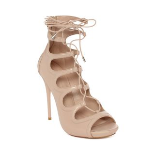 ALEXANDER MCQUEEN, Sandals, Cuba Calf Leather Lace up Sandal